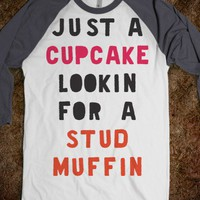 Just A Cupcake Looking For A Stud Muffin (Baseball) - The Coffee Shop