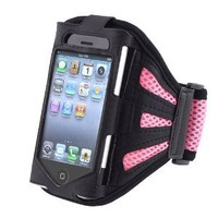 Amazon.com: eForCity PINK SPORT GRM ARMBAND CASE COVER Compatible With iPhone 3GS 4G iPhone 4S - AT&amp;T, Sprint, Version 16GB 32GB 64GB: Cell Phones &amp; Accessories