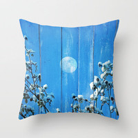 Some winter day...& Throw Pillow by Yasmina Baggili | Society6