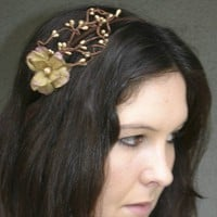 Headband Rays of gold by BeSomethingNew on Etsy