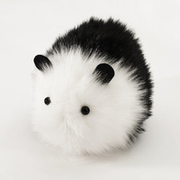 Panda Black and White Stuffed Guinea Pig Plushie Momma Size
