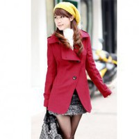 Korean Fashion Style Turndown Collar Dust Coat For Female (Half/Long Style) China Wholesale - Sammydress.com