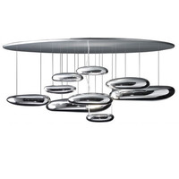 Artemide Mercury Lamp Ceiling Light Fixture by Ross Lovegrove