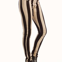 striped-skinny-pants BLACKTAUPE - GoJane.com