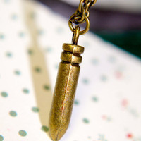 Bullet Proof Necklace | Trinkettes