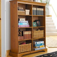 Tall Double Bookcase - Plow & Hearth