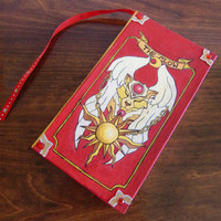 Cardcaptor Sakura 'Book of Clow' Painted Journal/Sketchbook