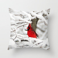 Standing out Throw Pillow by Captive Images Photography | Society6