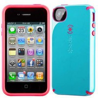 Amazon.com: Apple Iphone 4 4s Speck Products Batwing Candyshell Cotton Dandy Blue At&amp;t Retail Packaged: Cell Phones &amp; Accessories