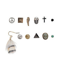 Pirate Stud Earring Pack - Jewelry  - Accessories
