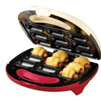 Amazon.com: Nostalgia Electrics PNB-900 Pigs in a Blanket and Appetizer Bites Maker: Kitchen & Dining