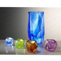 LIULI- LIULI LIVING- Our Secret- Crystal Sake Serving Set (1 pitcher+ 4 shot glasses) - Kitchen by Karen