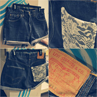 Levi Strauss Lace Pocket Shorts