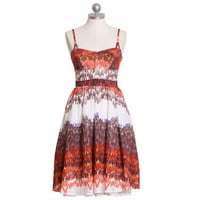 spanish nights printed dress - $54.99 : ShopRuche.com, Vintage Inspired Clothing, Affordable Clothes, Eco friendly Fashion