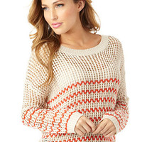 Zigzag Stripe Sweater