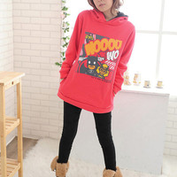 Cartoon Red Two Sides To Wear Hoodies : Wholesaleclothing4u.com