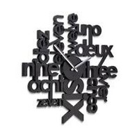 polyglot clock - a modern, contemporary clock from chiasso