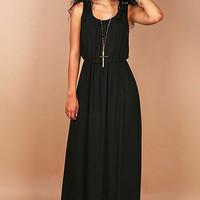 Trio Buttons Maxi Dress | Maxi Dresses at Pink Ice