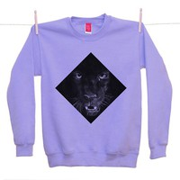 Street Market — Ohh Deer - Running From - Violet Sweater By Jamie Mitchell
