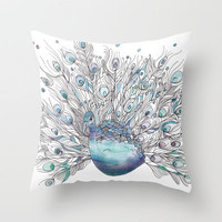 Glory Days Throw Pillow by Catherine Holcombe | Society6