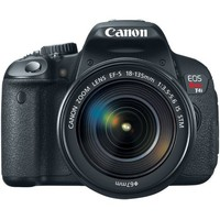 Canon EOS Rebel T4i 18.0 MP CMOS Digital Camera with 18-135mm EF-S IS STM Lens | www.deviazon.com