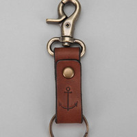 Leather Anchor Key Ring