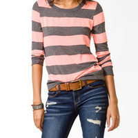 Heathered Rugby Stripe Sweater