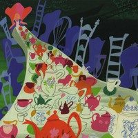 MaryBlair Alice Concept art tea party