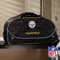 Personalized Pittsburgh Steelers Rolling Duffel Bags
