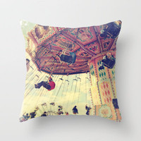 Up up and away! Throw Pillow by Sylvia Cook Photography | Society6