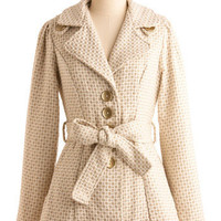 Beyond the Gold Coat | Mod Retro Vintage Coats | ModCloth.com