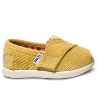 Goldenrod Cord Tiny TOMS Classics