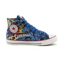 Converse All Star Hi Superman Athletic Shoe, Superman  Journeys Shoes