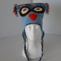 Blues Owl Hat - Young Teen