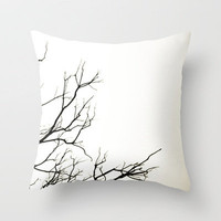 Winter Throw Pillow by Skye Zambrana | Society6