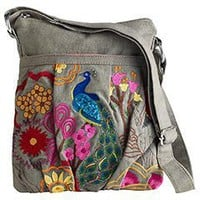 Product Details - Peacock Cross Body Bag
