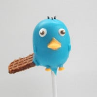 Perry the Platypus Inspired Cake Pops by EntirelySweet on Etsy