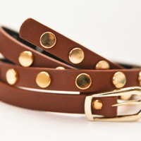 West-Sider Belt Brown
