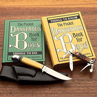 Dangerous Book for Boys Series: Things to Do, Things to Know reprints