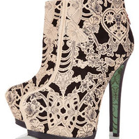**Lace Wing Ankle Boots by CJG - Shoes - New In This Week  - New In