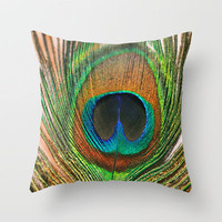 Majesty  Throw Pillow by Lisa Argyropoulos | Society6
