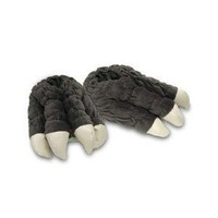 Toy Vault Godzilla Feet Plush Slippers!!!!