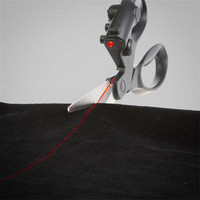 ThinkGeek :: Laser Guided Scissors