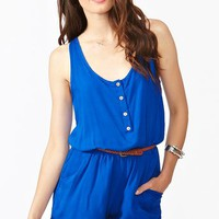 Brooke Belted Romper