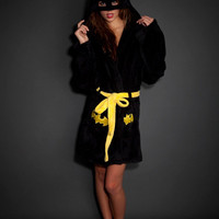 Undergirl Intimates Batman Hooded Robe