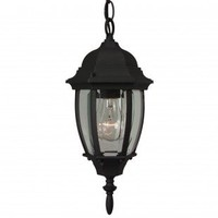 Craftmade Exterior Lighting Cast Aluminum Outdoor Pendant with Glass Bowl Panels - Z261-07 - Exterior Lighting - Lighting