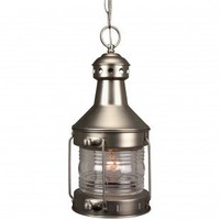 Craftmade Exterior Lighting Large Nautical Brass Outdoor Hanging Pendant Lantern - Z111-28 - Exterior Lighting - Lighting