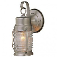 Craftmade Exterior Lighting Small Nautical Brass Outdoor Wall Mount Lantern - Z112-28 - Exterior Lighting - Lighting