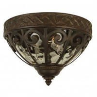 Craftmade Exterior Lighting Olivier Outdoor  Flush Mount in Oiled Bronze - Z3837-98 - Exterior Lighting - Lighting