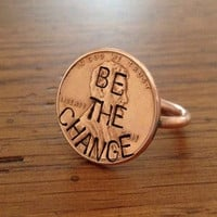 Penny Ring (Original) 'Be The Change' Edition - Customizable